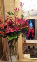 Grand bouquet hotel Beau Rivage